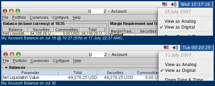 July Accounts